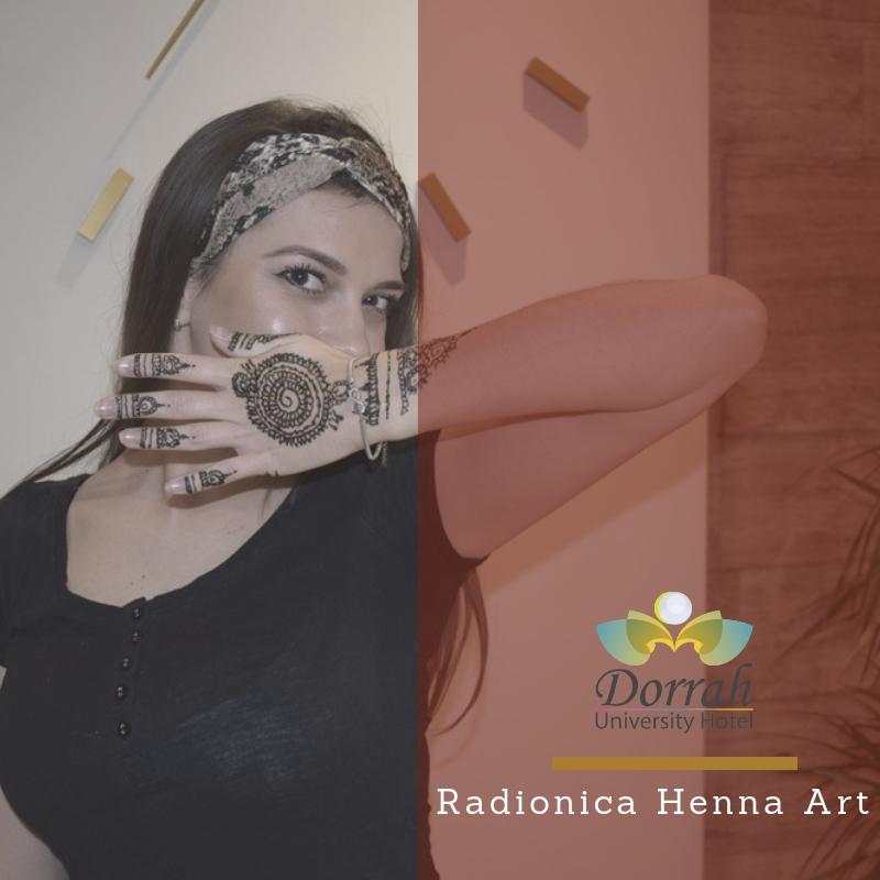 "Radionica ""Henna art"""