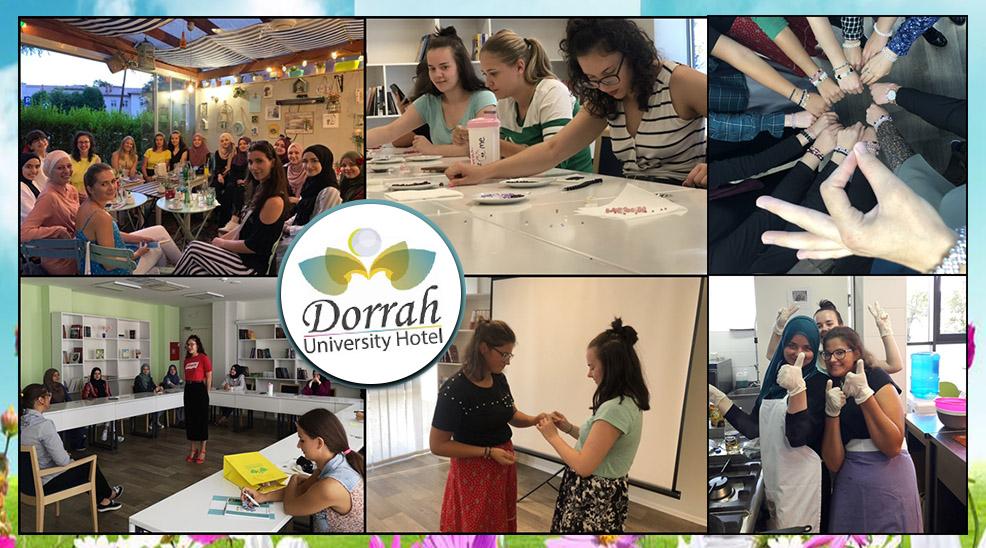 University Hotel Dorrah po prvi put uspješno organizovao 'ljetni kamp' za studentice